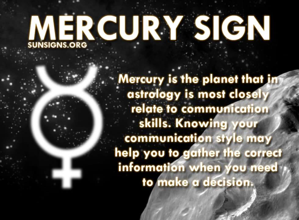 business related mercury astrology