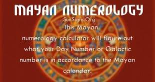 mayan numerology