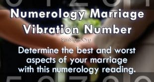 numerology marriage vibration number