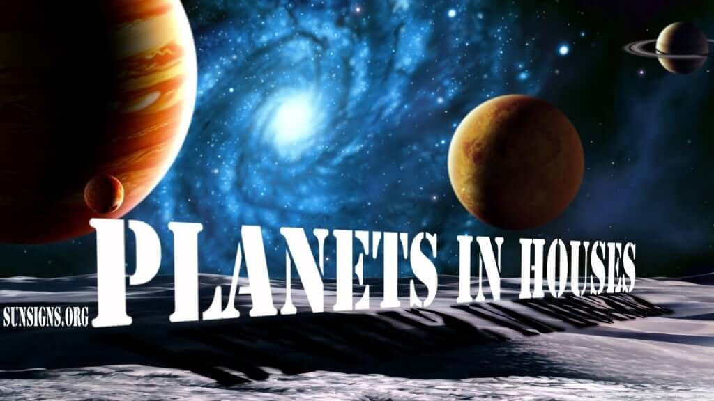 Planets in houses calculator