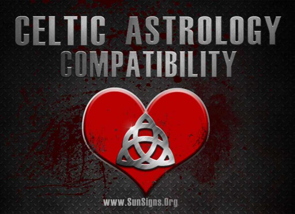 The Celtic astrology compatibility calculator is a love test that gives a report of your compatibility with another Druid sign.