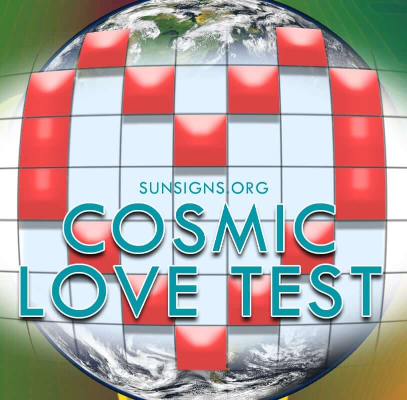 The Cosmic love astrology calculator can help you determine your degree of compatibility with another based on planetary placements in your natal chart.