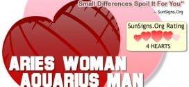 aries woman aquarius man