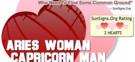 aries woman capricorn man