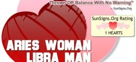 aries woman libra man