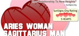 aries woman sagittarius man