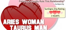 aries woman taurus man