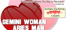 gemini woman aries man
