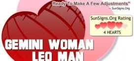 gemini woman leo man