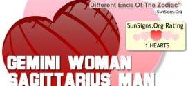 gemini woman sagittarius man