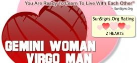 gemini woman virgo man