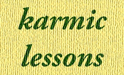 karmic lessons