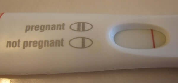 negative pregnancy