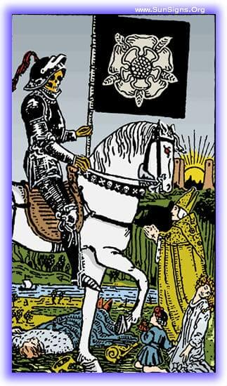This tarot meditation on the Death card upright will focus on the benefits of change and transformation.