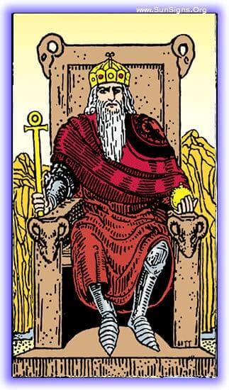 This tarot meditation using the Emperor card will focus on the positive masculine aspect, and the benevolent ruling spirit.