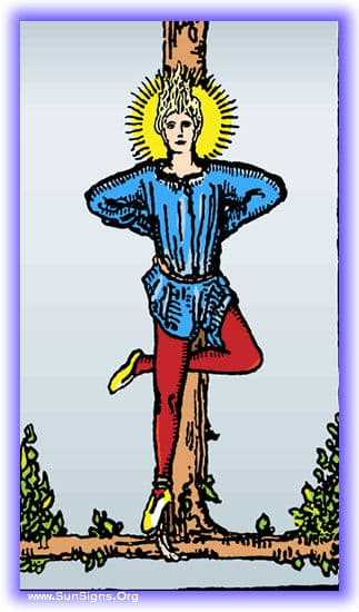 This tarot meditation of the Hanged Man reversed card will be on the dangers of hidden action and deceptio.,