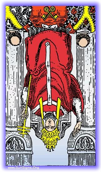 This tarot meditation on the Hierophant card in reversed position will focus on rebellion, breaking of tradition.