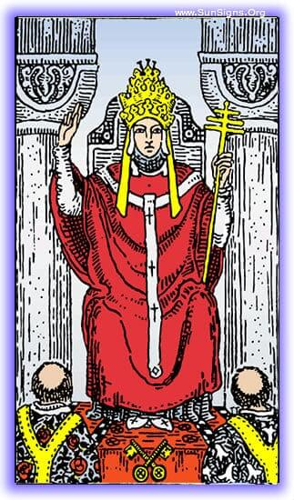 This meditation will focus on the Hierophant tarot card of the Major Arcana, the leader of traditions, the benefits of societies, and the key to the conscious and subconscious.