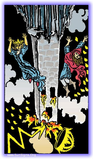 This tarot meditation of the Tower card reversed will focus on what happens when we hide away, when all the world is our enemy.