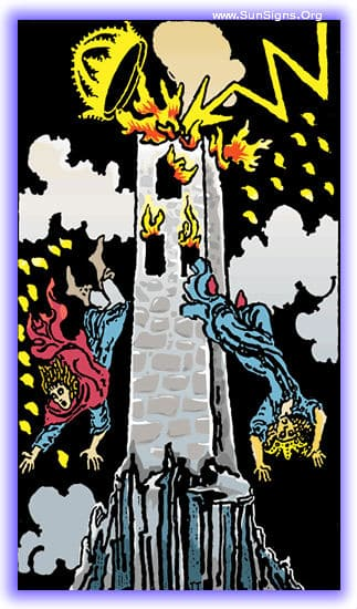 This tarot meditation of the Tower card upright will focus on the inevitability of certain tragic factors in our lives