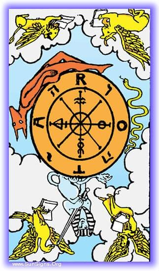 This tarot meditation on the Wheel of Fortune card inverted, is dedicated to what happens when people give in to hopelessness