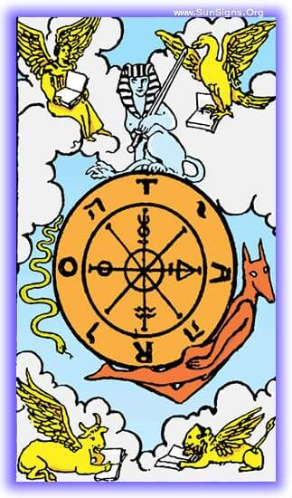 This tarot meditation of the Wheel of Fortune card is about the inexorable drive of fate and destiny.