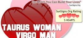 taurus woman virgo man
