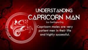 understanding capricorn man