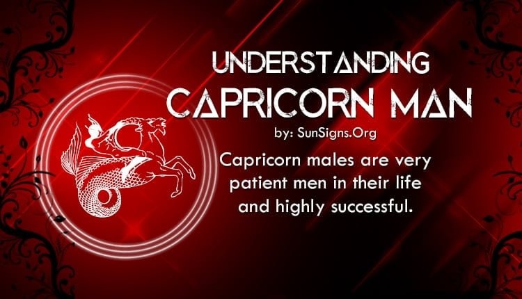 How to understand capricorn man