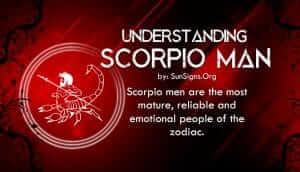 understanding scorpio man