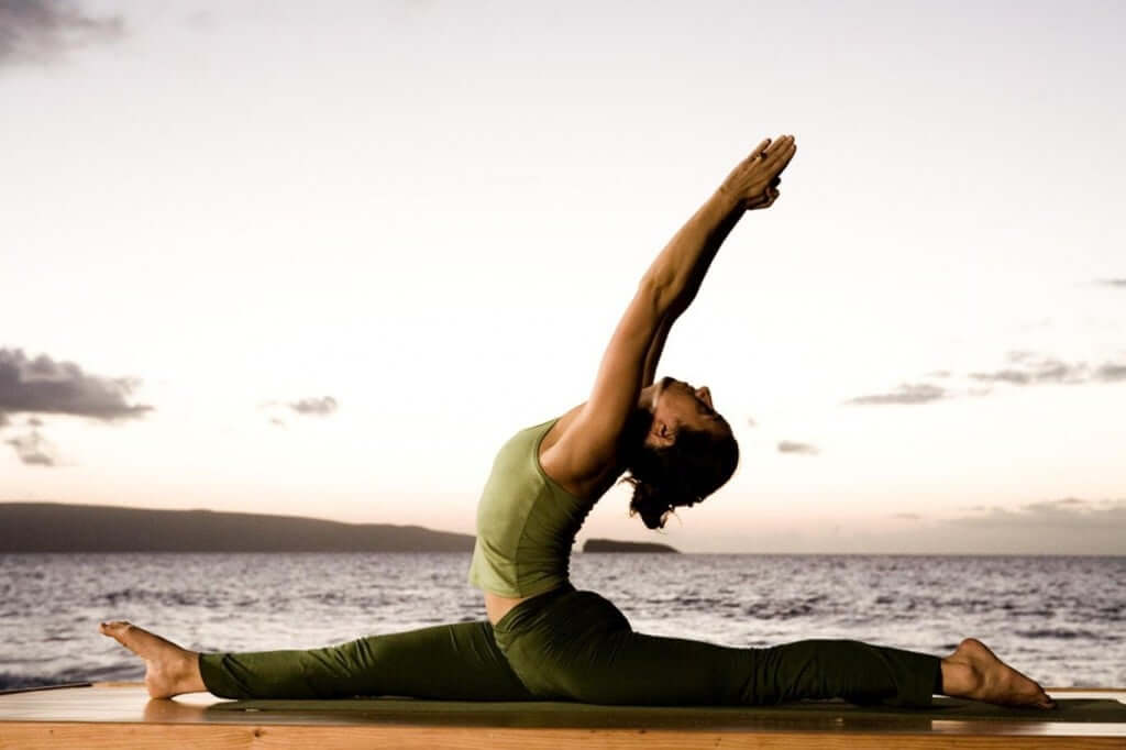 yoga Improves flexibility making your whole body more agile and flexible.