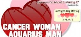 cancer woman aquarius man