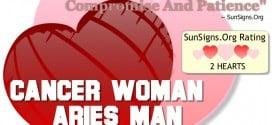 cancer woman aries man