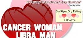 cancer woman libra man