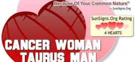 cancer woman taurus man