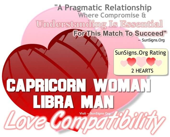 capricorn man and libra woman in a relationship