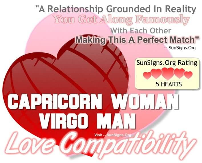capricorn woman virgo man