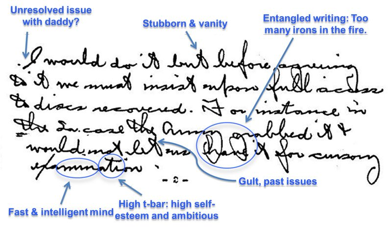 5 Hell Traits Revealed in Handwriting