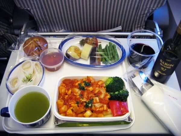 jet lag food