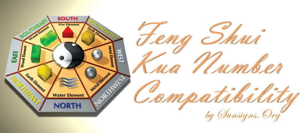 kua number compatibility. The Feng Shui Kua Number Compatibility calculator is very useful in determining the degree of compatibility between two individuals.