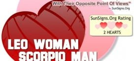 Leo Woman Scorpio Man. Two Extreme Personalities Can Make Or Break This Relationship With Their Opposite Point Of Views