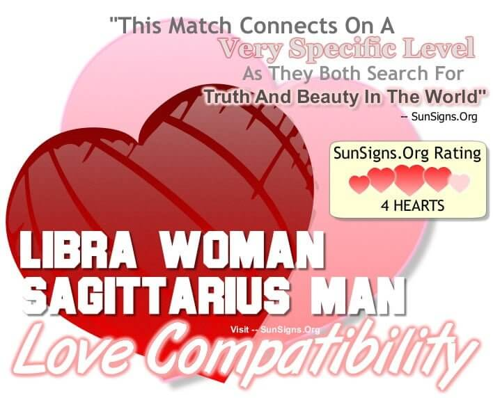 libra woman sagittarius man
