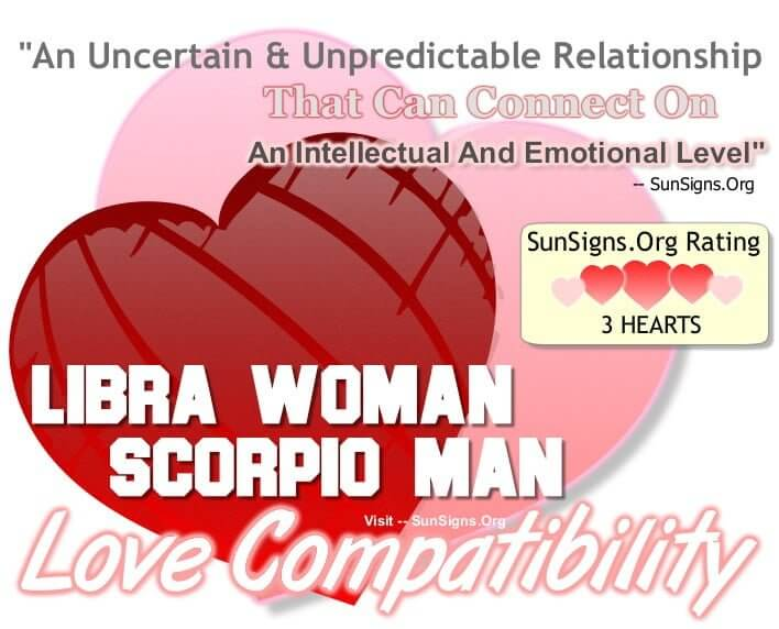 Scorpio Male And Libra Female Compatibility