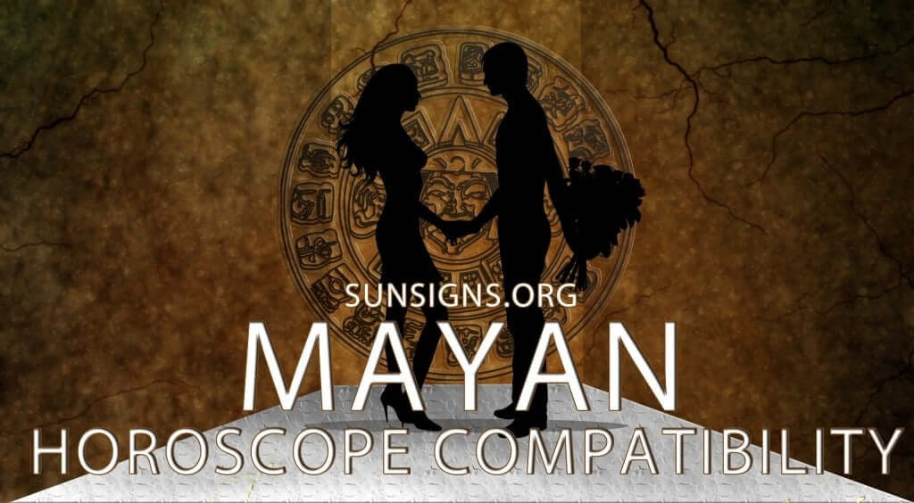 The Mayan astrology compatibility calculator predicts how good or bad your relationship will be based on the Tzolkin calendar signs.