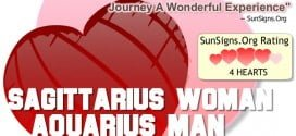sagittarius woman aquarius man