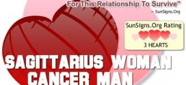 Sagittarius Woman Cancer Man. Understanding, Compromise And Patience Are Needed For This Relationship To Survive