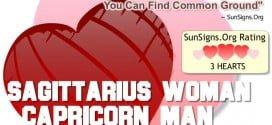 sagittarius woman capricorn man