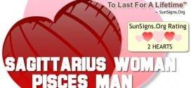 sagittarius woman pisces man