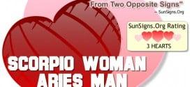 scorpio woman aries man