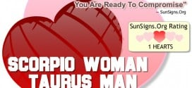 scorpio woman taurus man